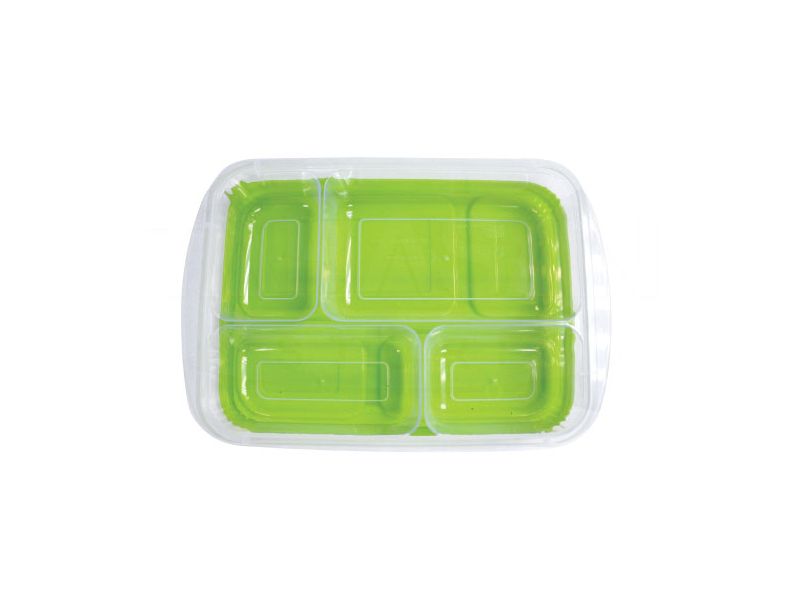 4 Compartments Lunch Box
